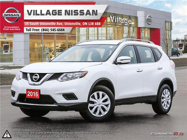 2016 Nissan Rogue S (Stk: P2709) in Unionville - Image 1 of 26