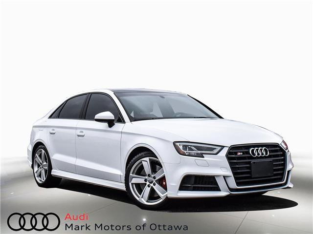 2018 Audi S3 2.0T Progressiv (Stk: 91450A) in Nepean - Image 1 of 27