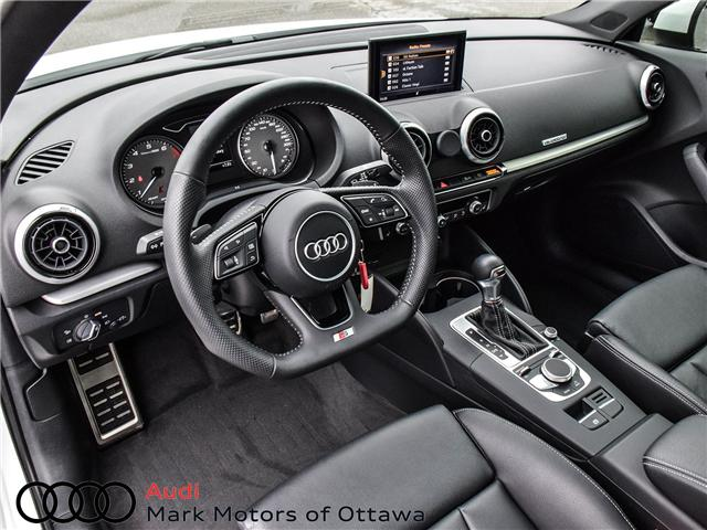 2018 Audi S3 2.0T Progressiv (Stk: 91450A) in Nepean - Image 9 of 27