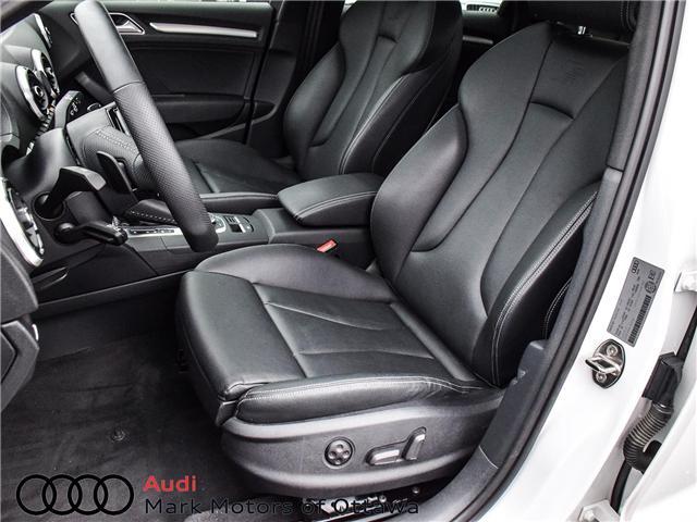 2018 Audi S3 2.0T Progressiv (Stk: 91450A) in Nepean - Image 10 of 27