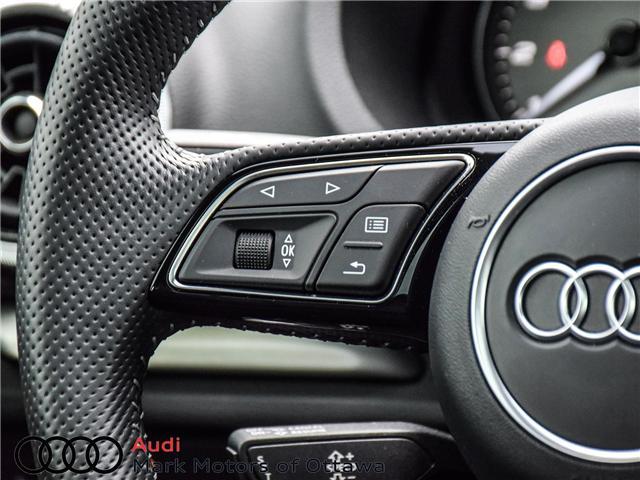 2018 Audi S3 2.0T Progressiv (Stk: 91450A) in Nepean - Image 12 of 27