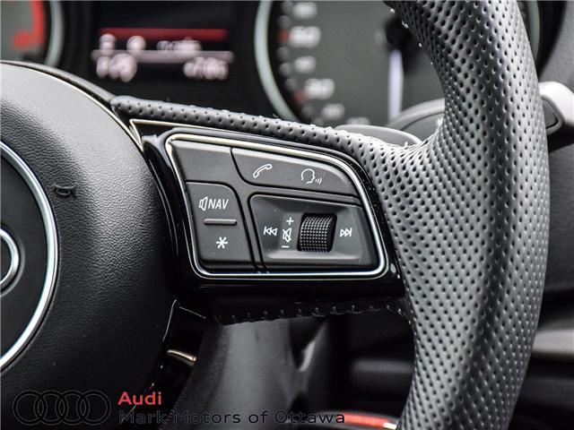 2018 Audi S3 2.0T Progressiv (Stk: 91450A) in Nepean - Image 13 of 27