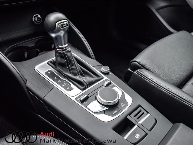 2018 Audi S3 2.0T Progressiv (Stk: 91450A) in Nepean - Image 18 of 27