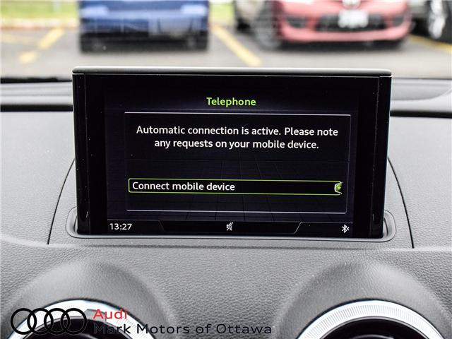 2018 Audi S3 2.0T Progressiv (Stk: 91450A) in Nepean - Image 22 of 27