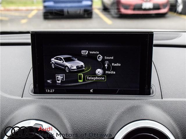 2018 Audi S3 2.0T Progressiv (Stk: 91450A) in Nepean - Image 23 of 27