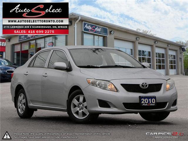 2010 Toyota Corolla  (Stk: 1TCRL151) in Scarborough - Image 1 of 27