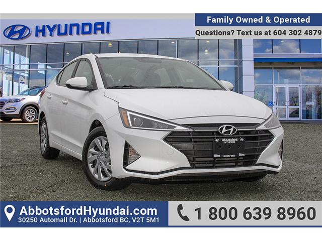 2019 Hyundai Elantra  (Stk: KE737586) in Abbotsford - Image 1 of 26