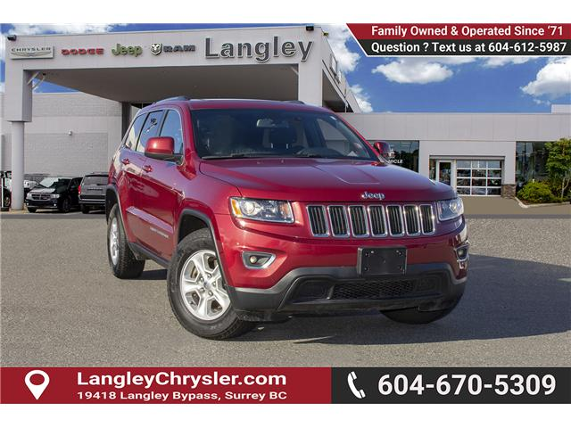 2015 Jeep Grand Cherokee Laredo (Stk: J292763A) in Surrey - Image 1 of 23