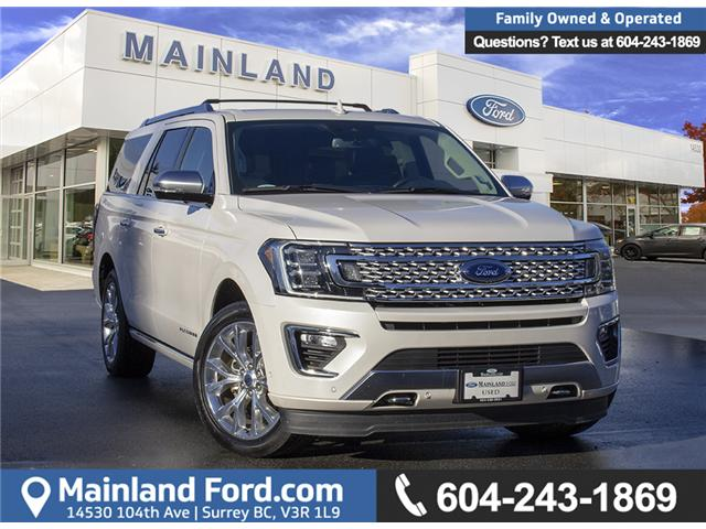 2018 Ford Expedition Max Platinum (Stk: P9944) in Surrey - Image 1 of 30