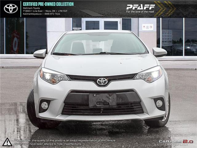 2014 Toyota Corolla 4-door Sedan LE CVTi-S (Stk: H18857A) in Orangeville - Image 2 of 27
