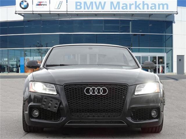 2010 Audi A5 2.0T Premium (Stk: U11353A) in Markham - Image 2 of 18