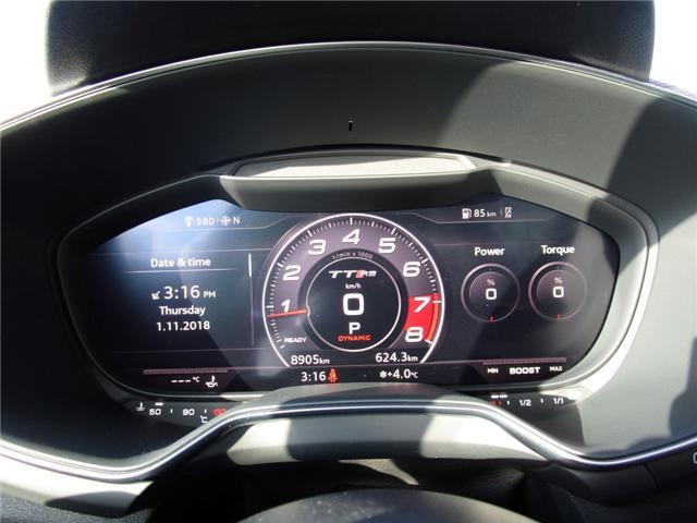 2018 Audi TT RS 2.5T (Stk: 6408) in Regina - Image 18 of 27