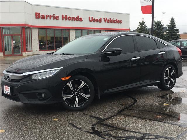 2016 Honda Civic Touring (Stk: U16861) in Barrie - Image 1 of 17