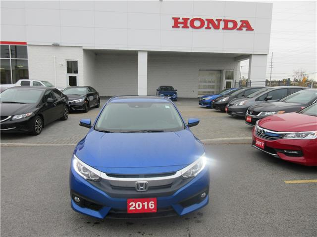 2016 Honda Civic EX-T (Stk: 25528L) in Ottawa - Image 2 of 10