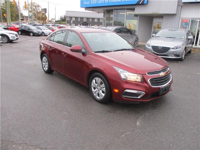 2015 Chevrolet Cruze 1LT (Stk: 181685) in Kingston - Image 1 of 12