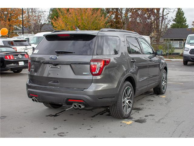 2018 Ford Explorer Sport (Stk: 8EX4520) in Surrey - Image 7 of 28