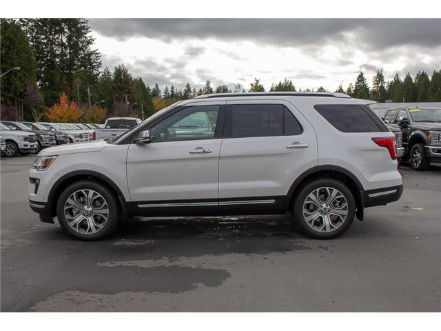 2019 Ford Explorer Platinum (Stk: 9EX0989) in Surrey - Image 4 of 30