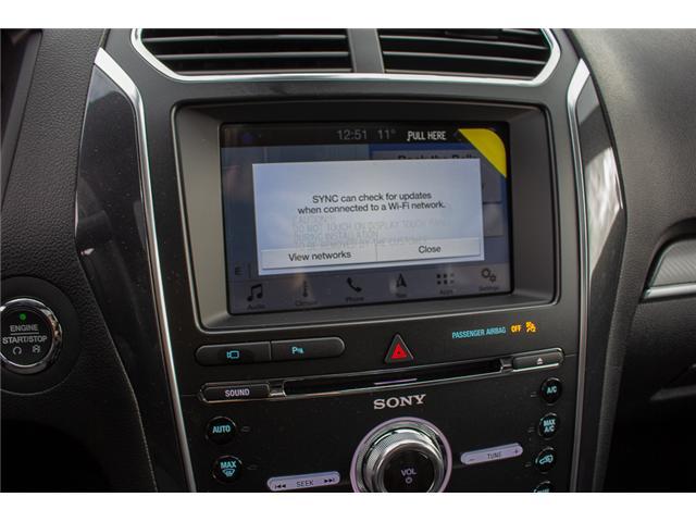 2018 Ford Explorer Sport (Stk: 8EX4520) in Surrey - Image 22 of 28