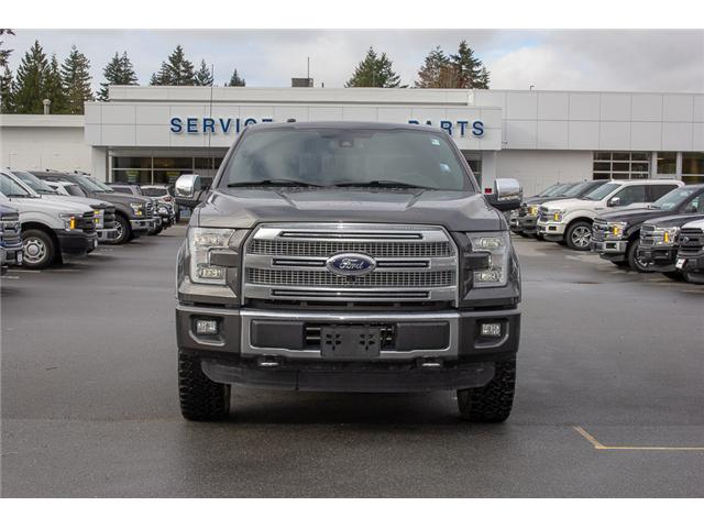 2016 Ford F-150 Platinum (Stk: P8118) in Surrey - Image 2 of 27