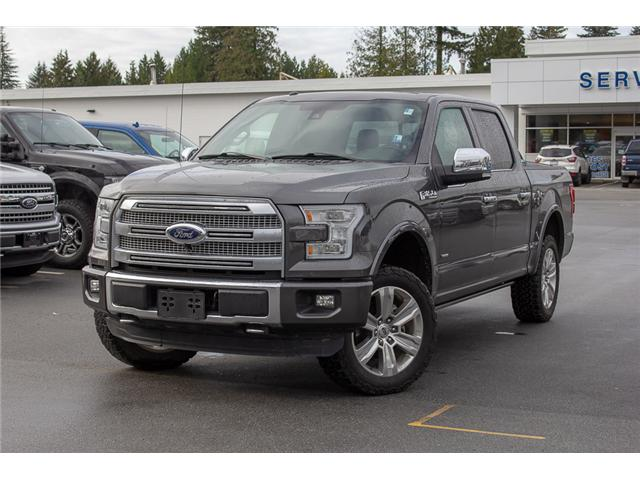 2016 Ford F-150 Platinum (Stk: P8118) in Surrey - Image 3 of 27