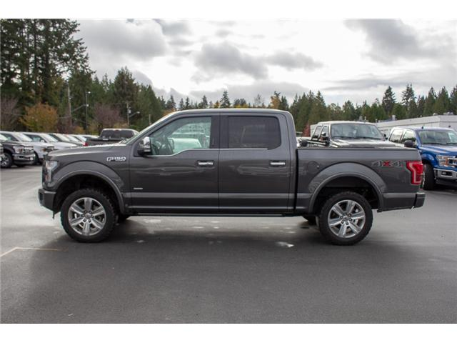 2016 Ford F-150 Platinum (Stk: P8118) in Surrey - Image 4 of 27