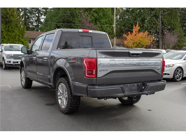 2016 Ford F-150 Platinum (Stk: P8118) in Surrey - Image 5 of 27