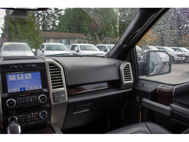 2016 Ford F-150 Platinum (Stk: P8118) in Surrey - Image 16 of 27