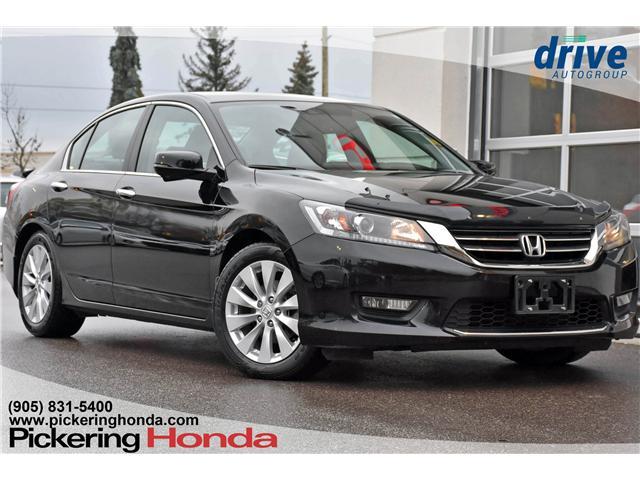 2015 Honda Accord EX-L V6 (Stk: T1880A) in Pickering - Image 1 of 31