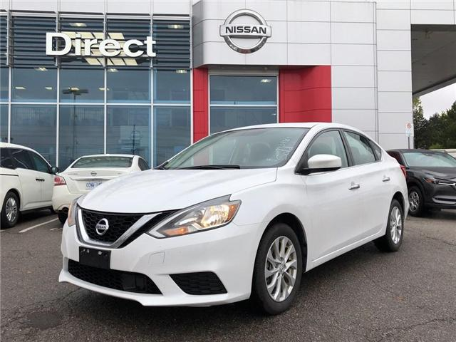 2018 Nissan Sentra SV - CERTIFIED PRE-OWNED (Stk: P0587) in Mississauga - Image 1 of 15