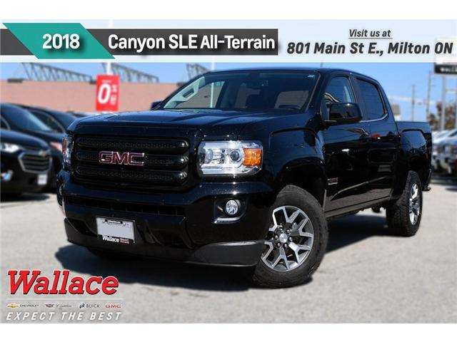 2018 GMC Canyon SLE/DEMO/V6/ALL-TERRAIN/4WD/HD TRAILR PKG (Stk: 286002D) in Milton - Image 1 of 4