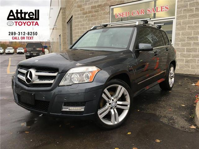 2011 Mercedes-Benz GLK-CLASS GLK 350 4WD LEATHER, PANO SUNROOF, ALLOYS, FOG LAM (Stk: 42582A) in Brampton - Image 1 of 24