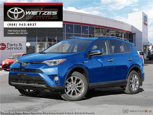 2018 Toyota RAV4 AWD Hybrid Limited (Stk: 67632) in Vaughan - Image 1 of 22