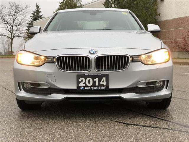 2014 BMW 320i xDrive (Stk: P1341) in Barrie - Image 2 of 18
