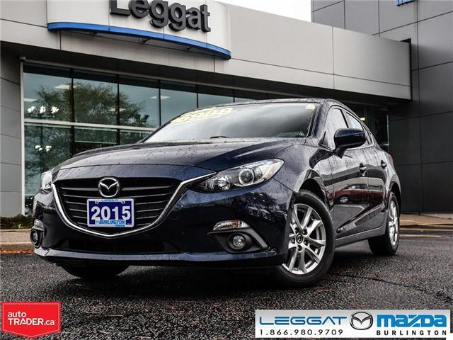 2015 Mazda Mazda3 GS AUTOMATIC, MOON ROOF, HEATED SEATS (Stk: 1704) in Burlington - Image 1 of 17