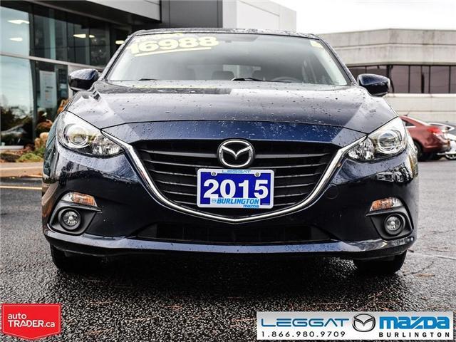 2015 Mazda Mazda3 GS AUTOMATIC, MOON ROOF, HEATED SEATS (Stk: 1704) in Burlington - Image 2 of 17