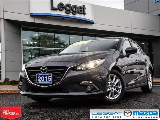 2015 Mazda Mazda3 GS AUTO, MOONROOF, HEATED SEATS, BACK UP CAMERA (Stk: 1709) in Burlington - Image 1 of 19