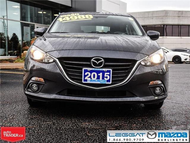 2015 Mazda Mazda3 GS AUTO, MOONROOF, HEATED SEATS, BACK UP CAMERA (Stk: 1709) in Burlington - Image 2 of 19