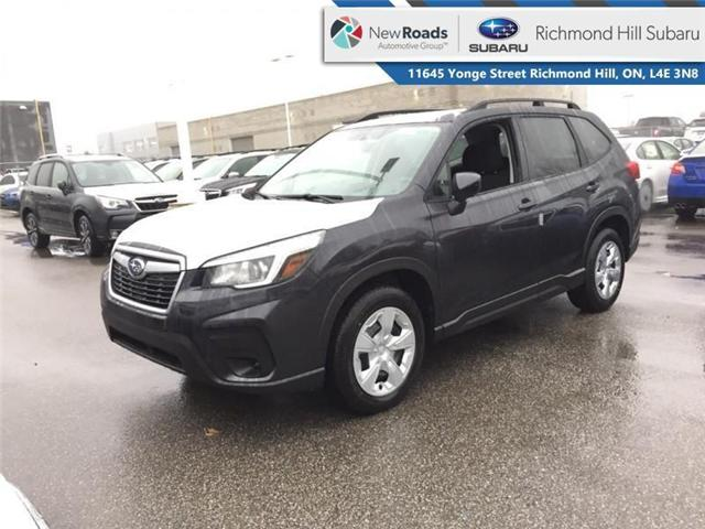 2019 Subaru Forester CVT - Heated Seats - STARLINK - $252 29