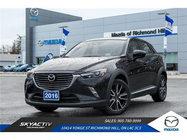 2016 Mazda CX-3 GT (Stk: 18-920A) in Richmond Hill - Image 1 of 20