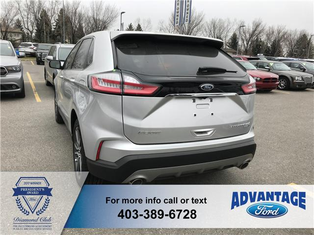 2019 Ford Edge Titanium (Stk: K-104) in Calgary - Image 3 of 5