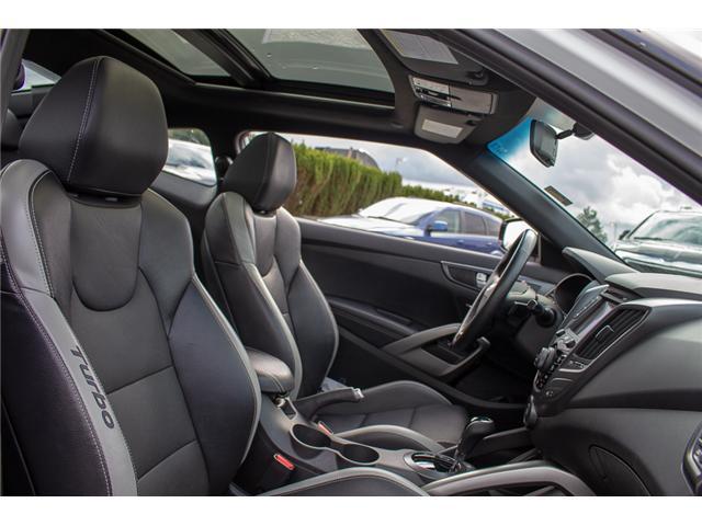 2017 Hyundai Veloster Turbo (Stk: AH8754) in Abbotsford - Image 20 of 29