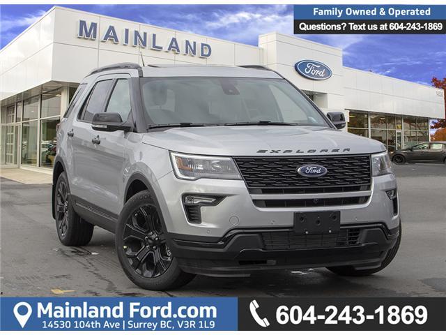 2019 Ford Explorer Sport (Stk: 9EX0988) in Surrey - Image 1 of 28