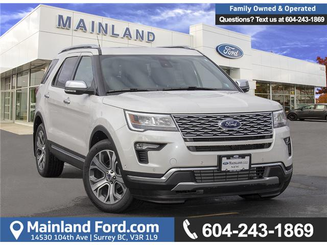 2019 Ford Explorer Platinum (Stk: 9EX0989) in Surrey - Image 1 of 30