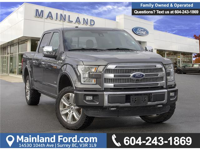 2016 Ford F-150 Platinum (Stk: P8118) in Surrey - Image 1 of 27