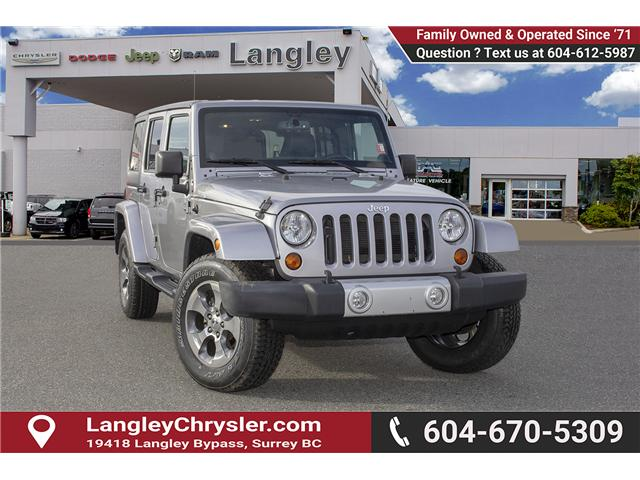 2013 Jeep Wrangler Unlimited Sahara (Stk: EE891580B) in Surrey - Image 1 of 20