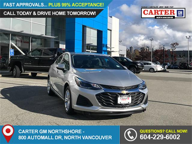 2019 Chevrolet Cruze LT (Stk: 9C10810) in North Vancouver - Image 1 of 13