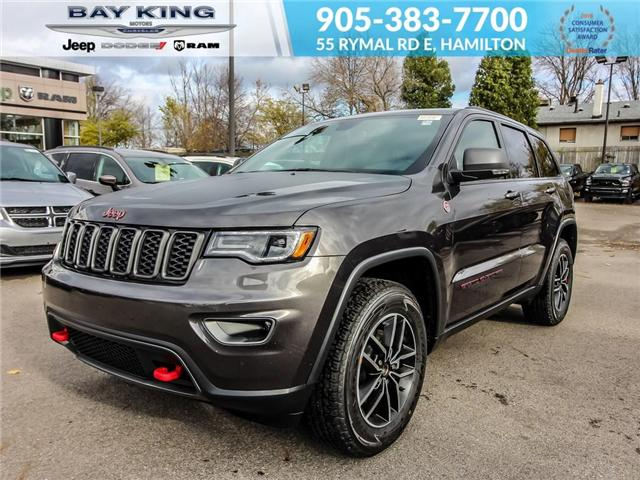 2019 Jeep Grand Cherokee Trailhawk (Stk: 197555) in Hamilton - Image 1 of 22