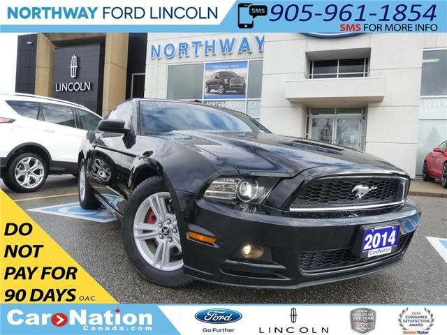 2014 Ford Mustang V6 | ONE OWNER | LOCAL TRADE IN | (Stk: F187766B) in Brantford - Image 1 of 21