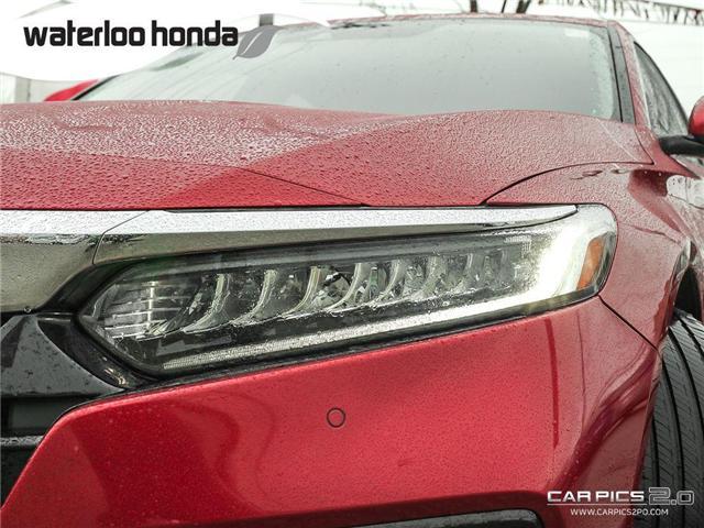 2018 Honda Accord Touring (Stk: H2930) in Waterloo - Image 25 of 28
