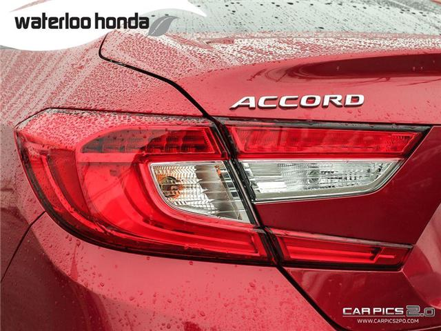 2018 Honda Accord Touring (Stk: H2930) in Waterloo - Image 27 of 28
